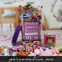 Mum's Personalised Sweet Jar - Medium